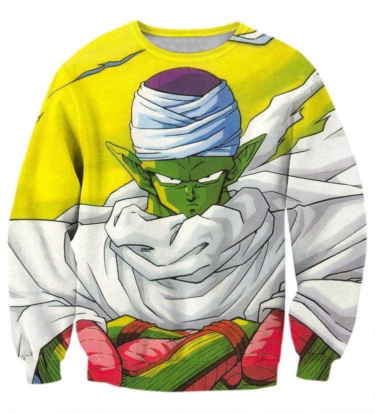 Dragon Ball Piccolo Namekian Evil King Cape Cool Design Streetwear Sweatshirt    #Dragon #Ball #Piccolo #Namekian #Evil #King #Cape #Cool #Design #Streetwear #Sweatshirt