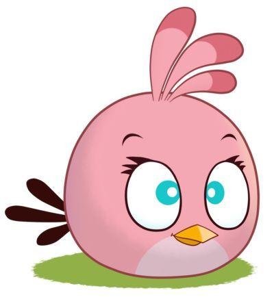 Fantasy Deco Vinilos Decorativos Angry Birds Angry Birds Stella Pajaro Rosado Angry Birds