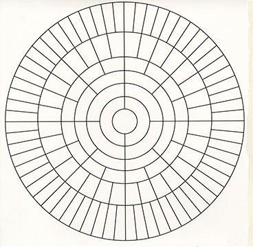 Circular Seven Generation Family Tree Genealogy Pinterest