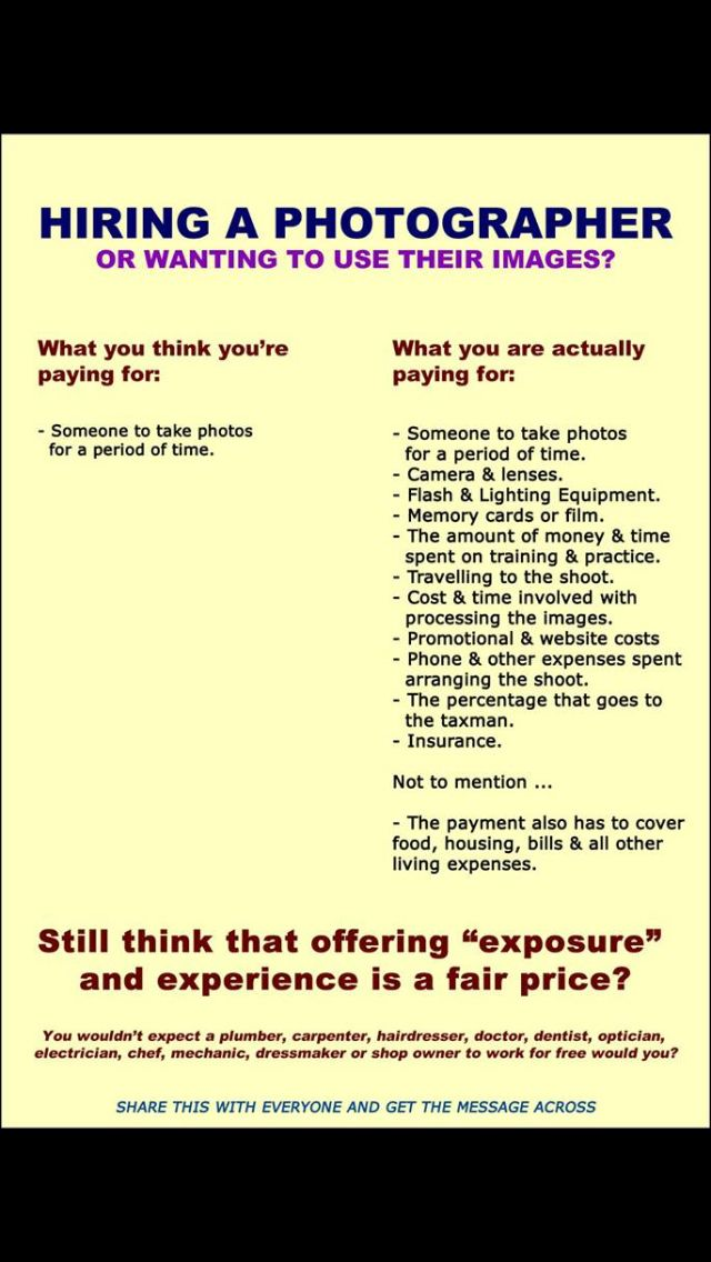 Hire A Photographer >> What You Re Really Paying For When Hiring A Photographer I Still