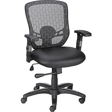 Staples Corvair Luxura Mesh Back Task Chair Black At Staples Task Chair Chair Office Chair