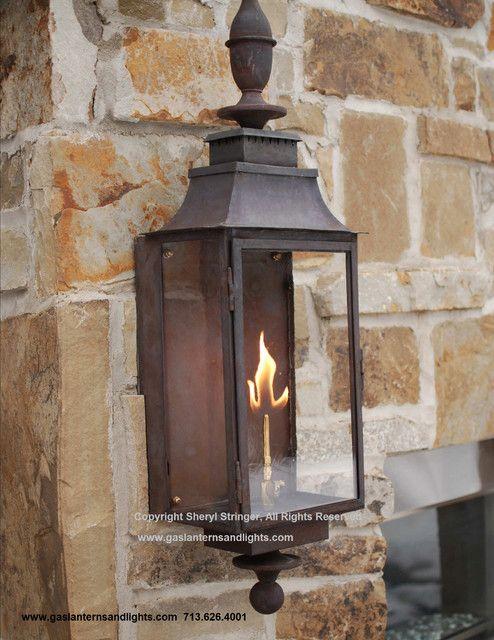 Sheryls Grande Gas Lantern Traditional Lighting