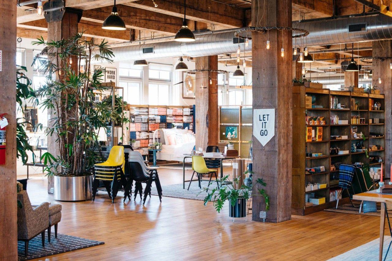 Schoolhouse Electric Is Portland S Hidden Gem For Design Lovers Business Decor Schoolhouse Electric S Brick