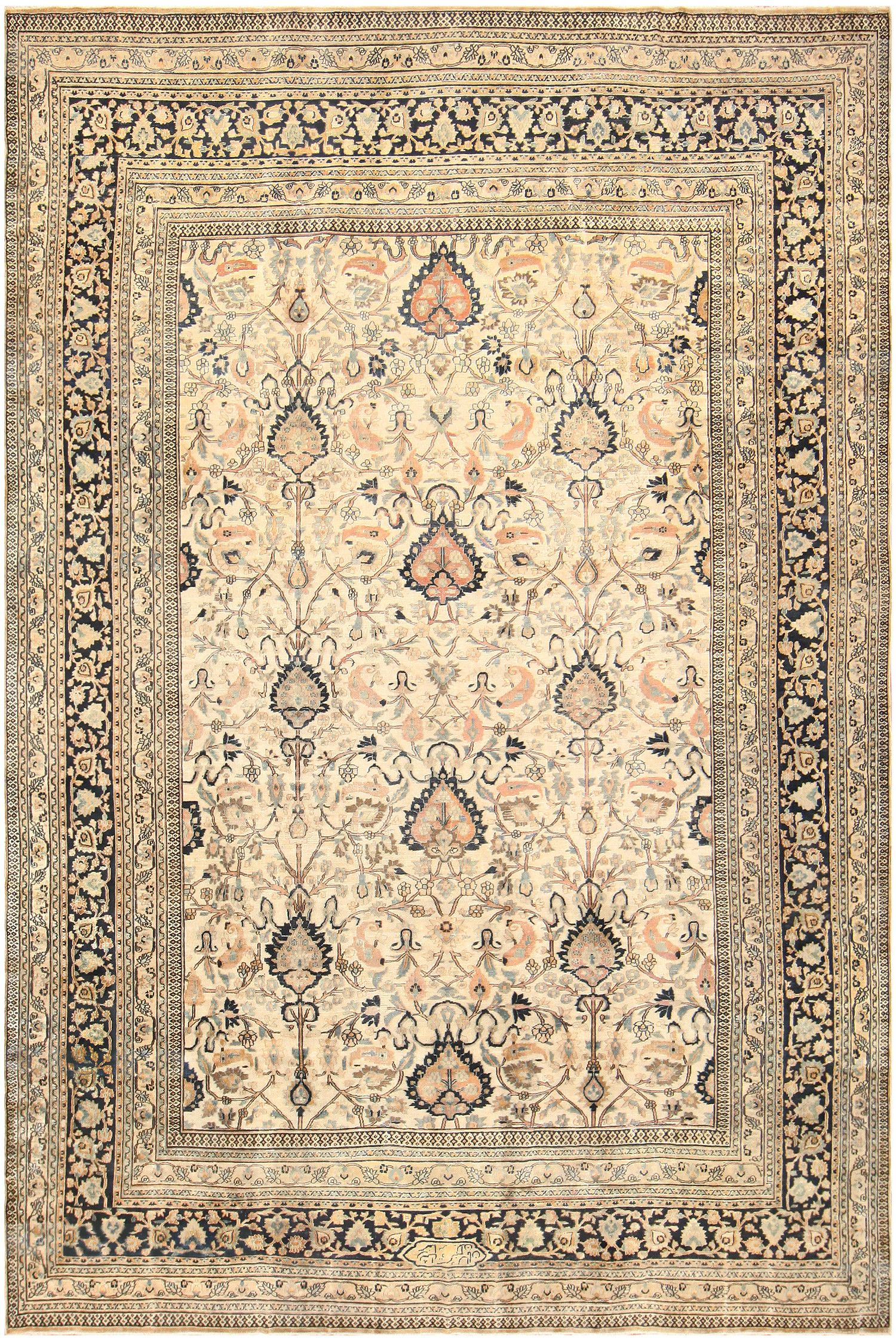 Large Antique Persian Khorassan Rug 50585 By Nazmiyal Persian Rug Designs Khorassan Rug Antique Persian Rug