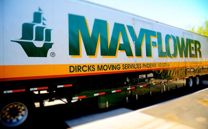 Mayflower Moving Van Lines Big Trucks Van Lines