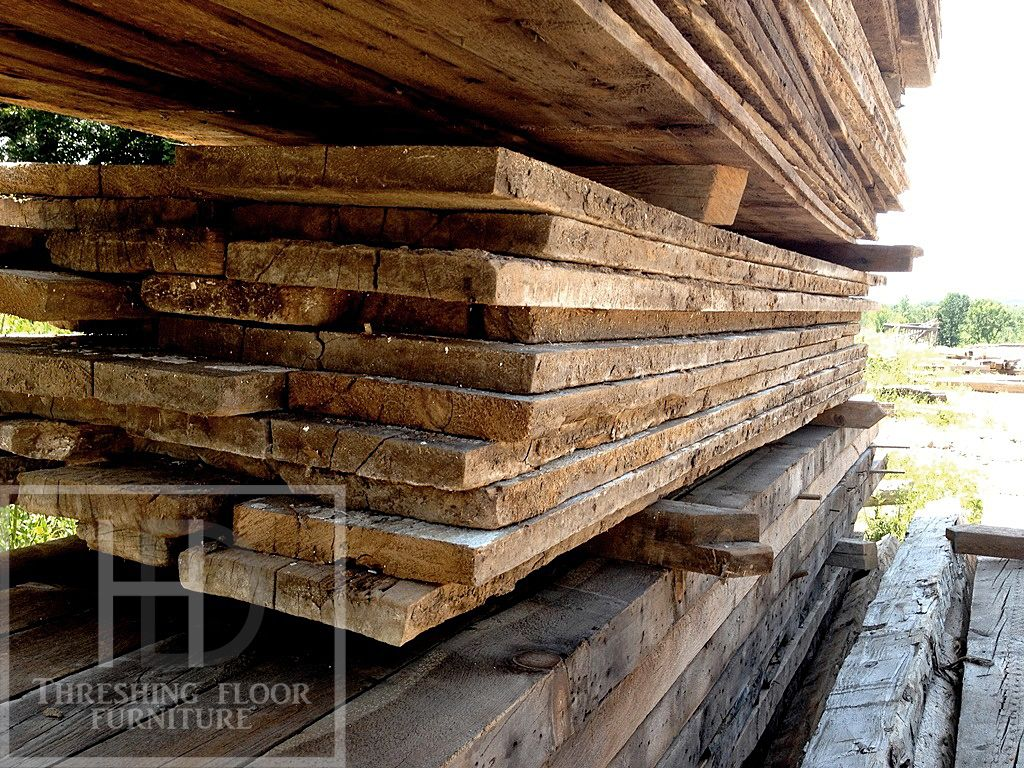 Reclaimed Threshing Floor Boards from Ontario Barns