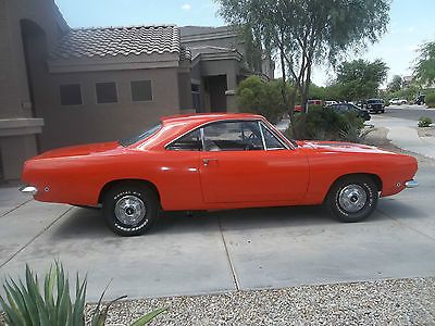 1968 Plymouth Barracuda Base 318 2bbl V8 904 Auto Plymouth