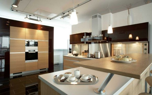 Genial Direkte Und Indirekte Beleuchtung Küche   Beleuchten Sie Diesen Raum  Passend Und Attraktiv. Bekanntermaßen Hängt Die Art Und Weise, Wie Wir Die  Farben Und.