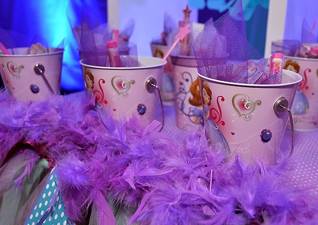 Favors at a Sofia the First Princess Party #princess #sofiathefirst & Sofia the first - TUTU PARTY Birthday Party Ideas | Pinterest ...