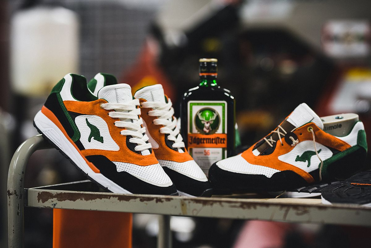 Jägermeister presents its first sneaker collaboration ever, alongside KangaROOS, as the two have come together to work on the brand-favorite Ultimate.