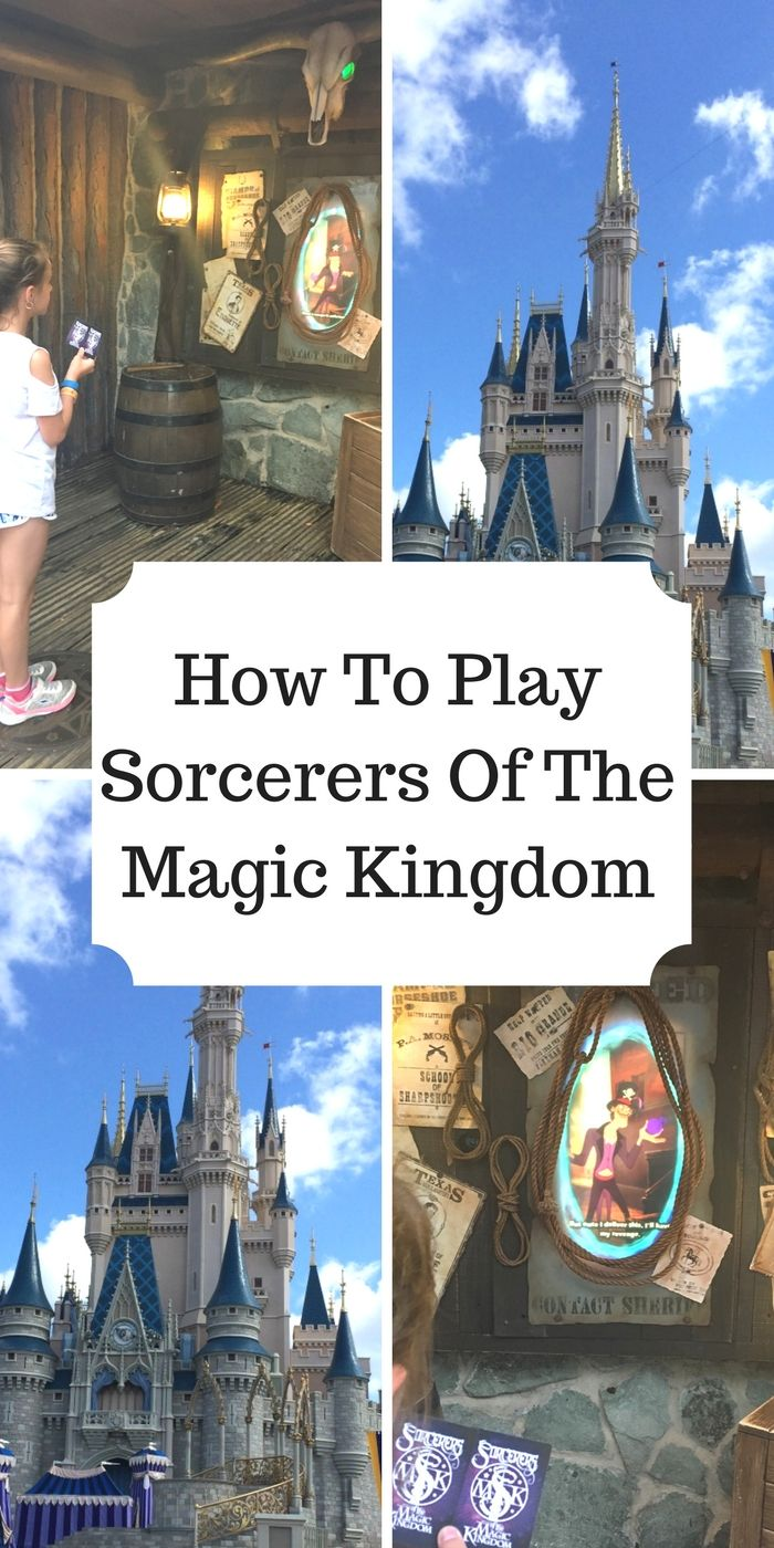 Beginners Guide To Sorcerers Of The Magic Kingdom Disney Pinterest