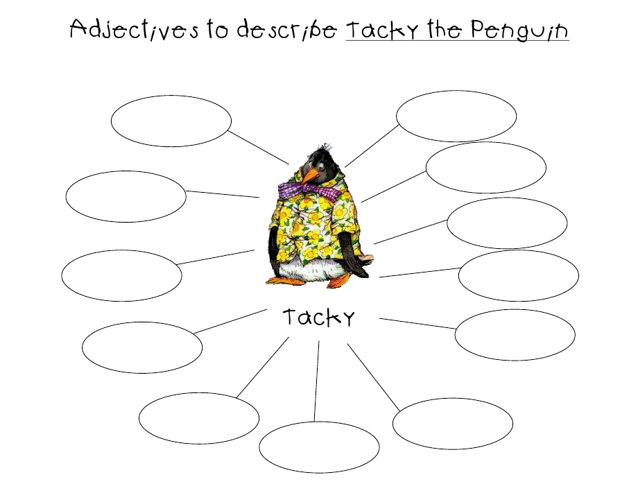 Printable Worksheets tacky the penguin worksheets : Adjectives Google Image Result for http://4.bp.blogspot.com/_ ...