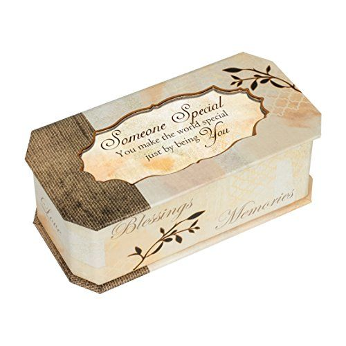 Someone Special Memories Tree Branch Jewelry Music Box Plays Wonderful World ** You can find more details by visiting the image link.