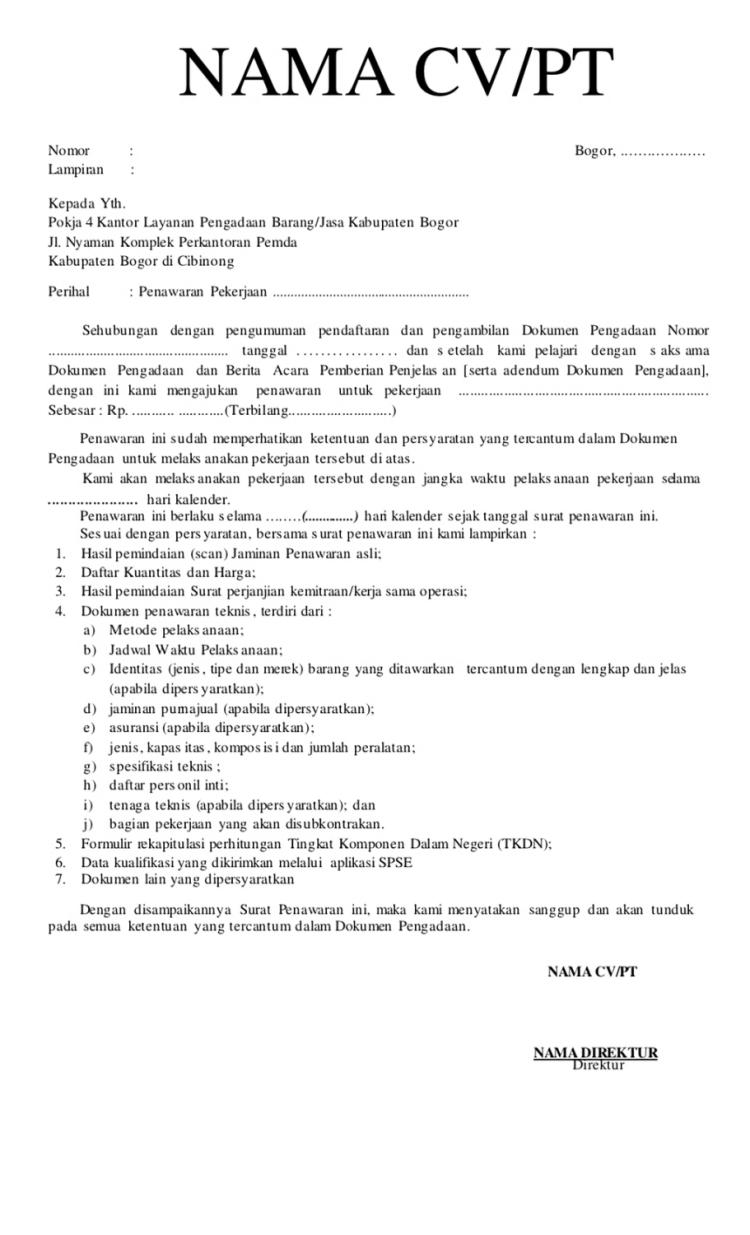Contoh Proposal Bantuan Rehab Rumah Pribadi Guru Ilmu Sosial Surat Lelang Ilmu Sosial
