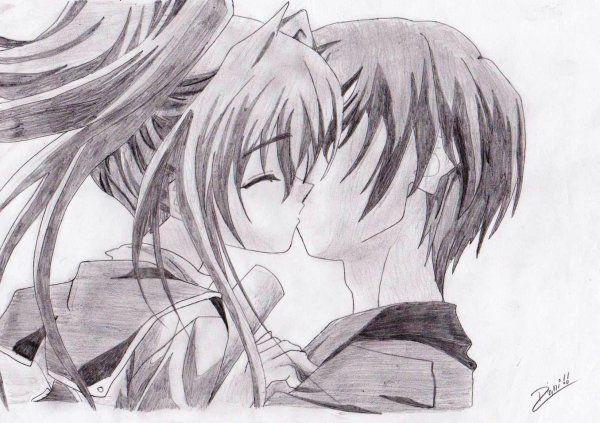 The Love Of A Boyfriend Anime Love Anime Anime Romance
