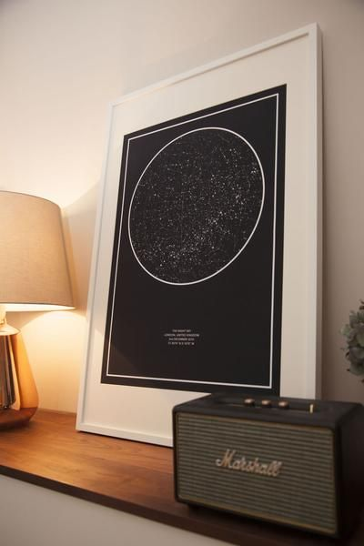 Thenightsky Is A Custom Star Map Design And Printing Service Maybe For The Play Room Map Gifts Star Map Gifts