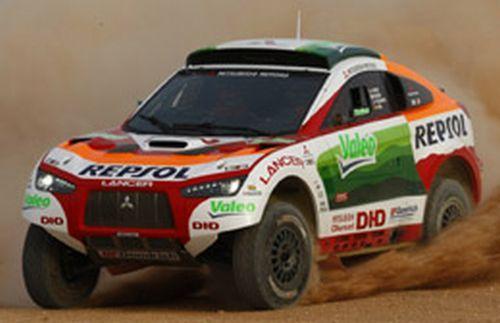 Valeo es patrocinador de equipos de carreras de rallys como el Dakar.
