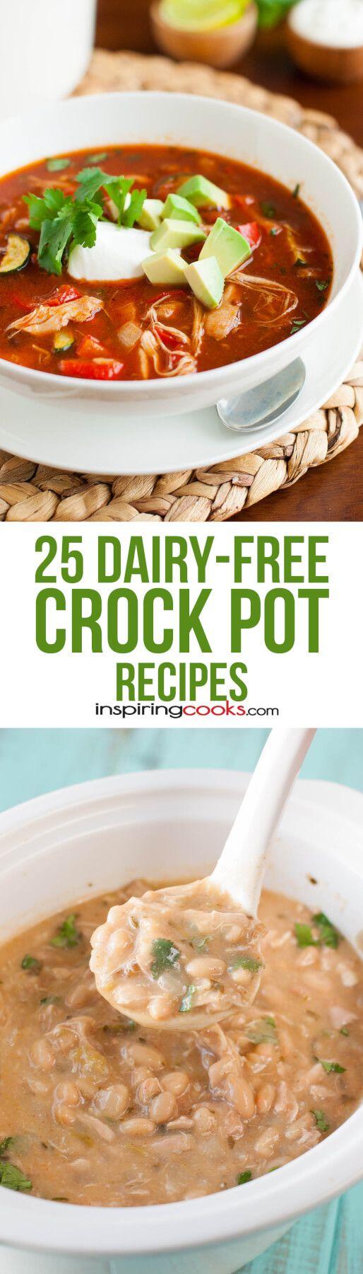 9 Dairy Free Crock Pot Recipes No Milk Or Cream Here