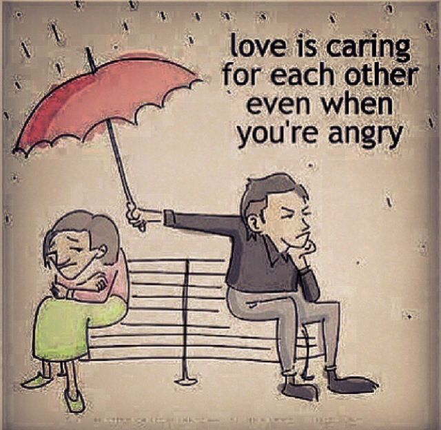 Our Love For Each Other: Love Is Caring For Each Other Even When You're Angry