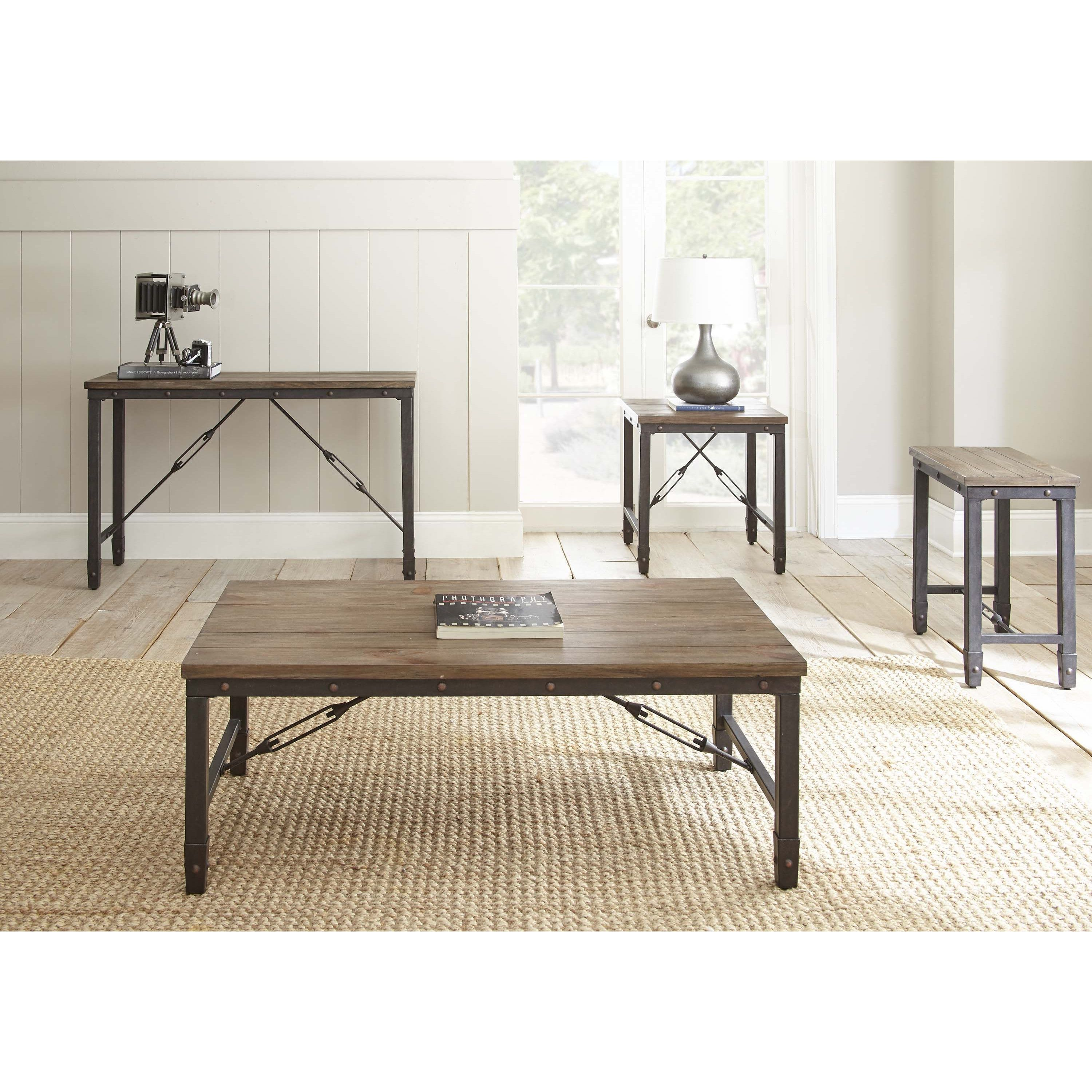 trent austin design rainier coffee table & reviews