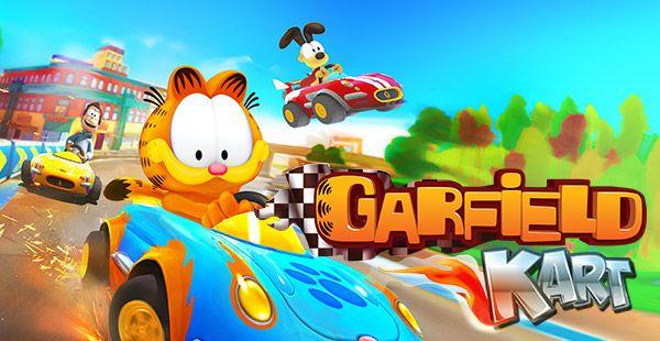 Garfield Kart Garfield Games Tigger