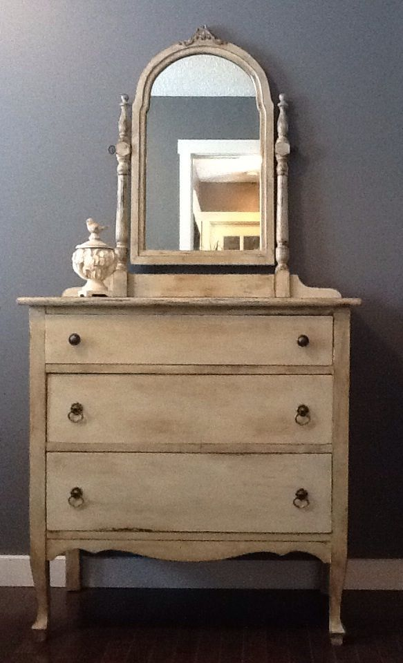 Annie sloan country grey with dark wax things painted for Chalk paint comparable to annie sloan