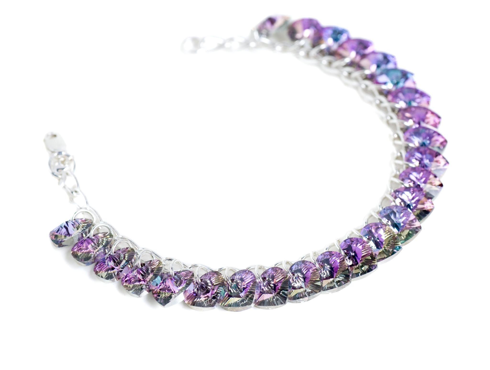Multi purple hearts