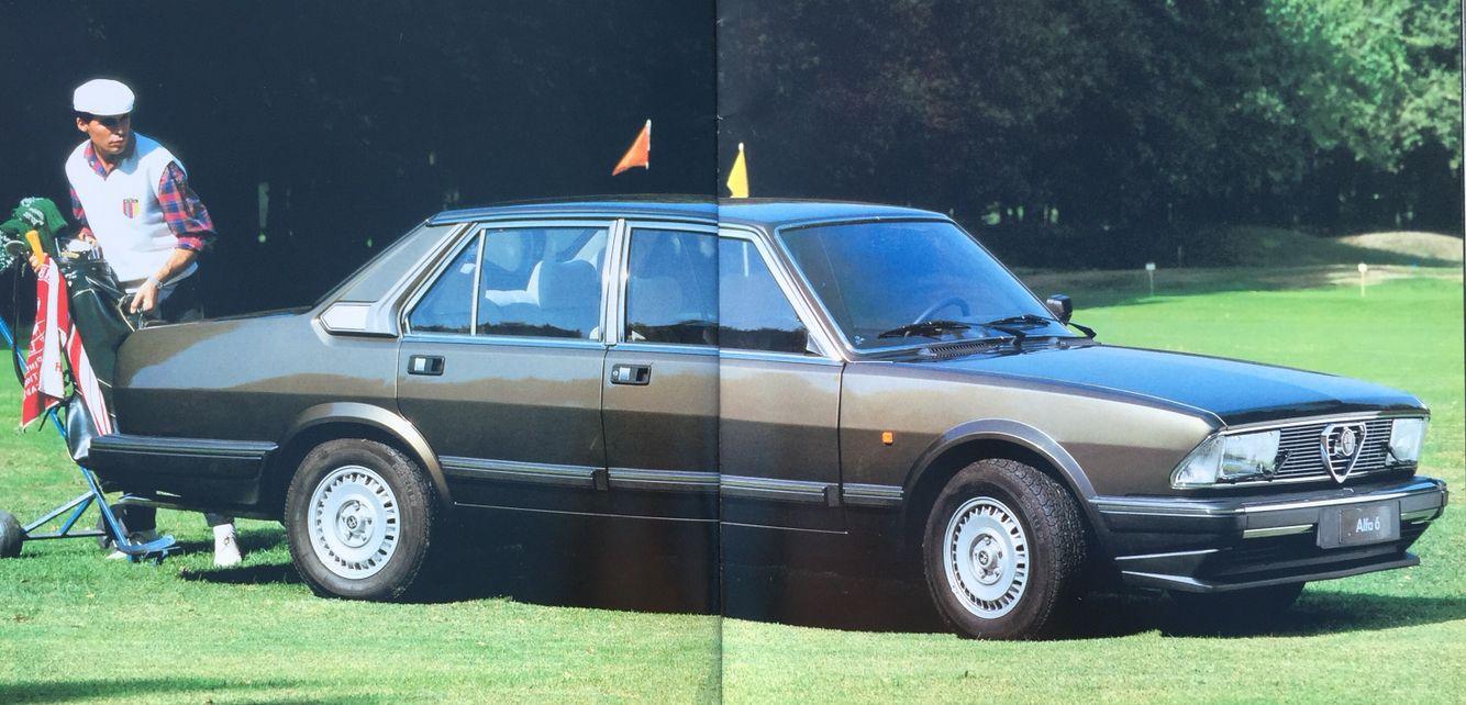 alfa romeo sei 2 5 qv 1984 vehicles pinterest vehicle rh pinterest com Alfa Romeo SUV Alfa Romeo Stelvio