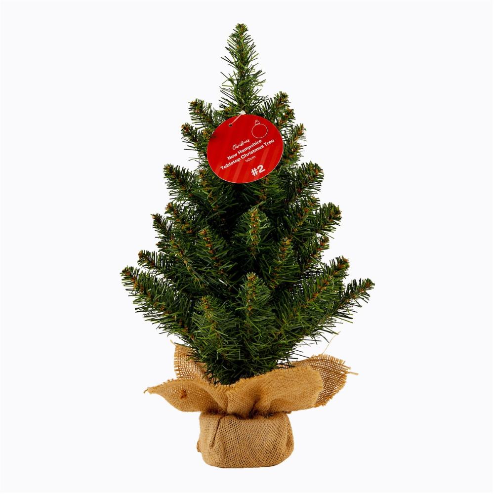New Hampshire Tabletop Christmas Tree 40cm Green BIG W