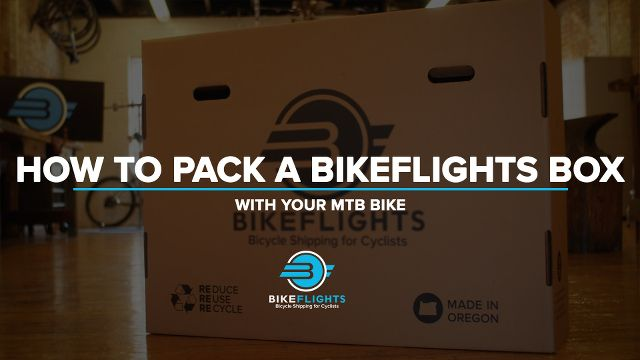 Picture Of Bikeflights Box For Packing A Bicycle For Taking On A Plane For Airline Travel With Images Bikepacking Bike Trips Bike Trail Riding