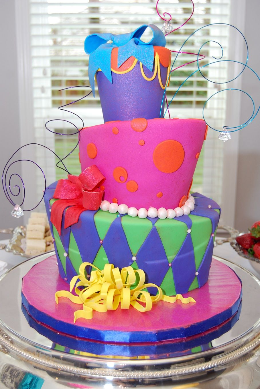 Mad Hatter Tea Party Cake Ideas Google Search Fun Cakes