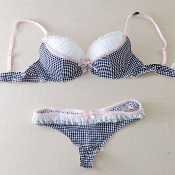c1c87227f5a51 Beautiful Lingerie Brand Womens Underwear Lingerie Cute Bra Set Matching Sexy  Bra and Panty Sets for Women