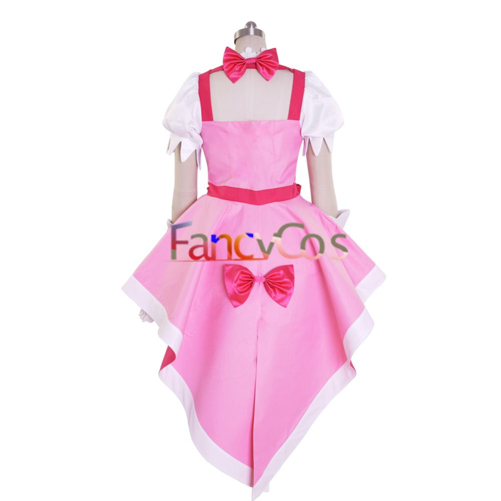 Halloween Women s Go! Princess PreCure Cure Flora Party Dress Cosplay  Costume 672794fd902a