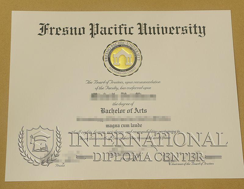 Fresno Pacific University Diploma Fpu Diploma Fresno Pacific