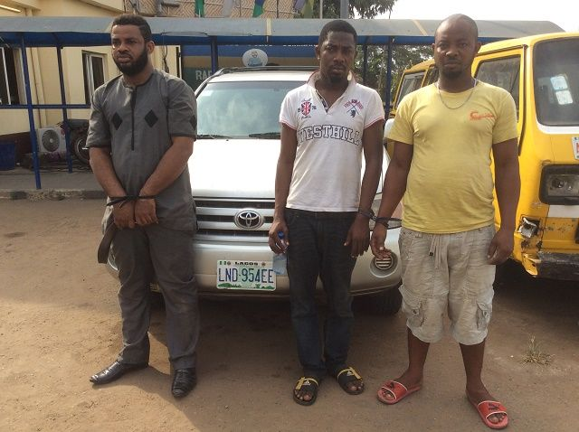 N3 MILLION RANSOM: RRS ARRESTS THREE FLEEING KIDNAPPERS