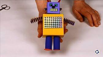 Worksheet.  Robot Caminante en 2 patas Fcil de hacer walking robot