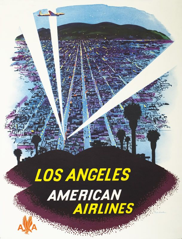 Los+Angeles+-+American+Airlines+by+Ludekens,+Fred