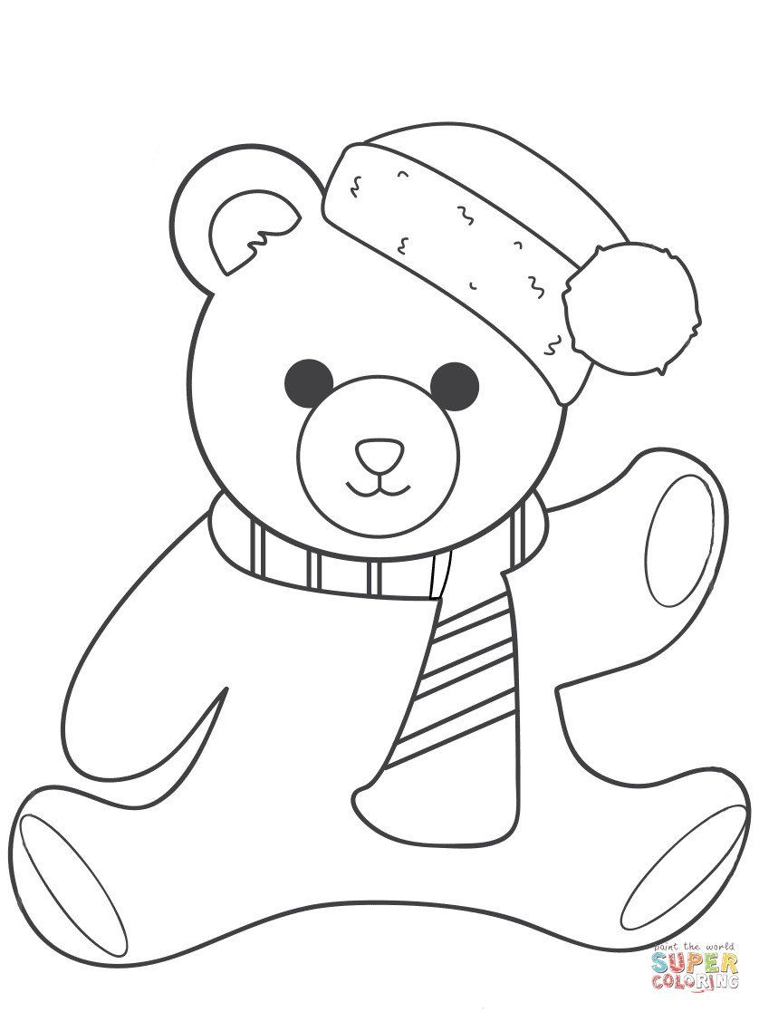 30 Teddy Bear Coloring Pages In 2020 Teddy Bear Coloring Pages Bear Coloring Pages Birthday Coloring Pages