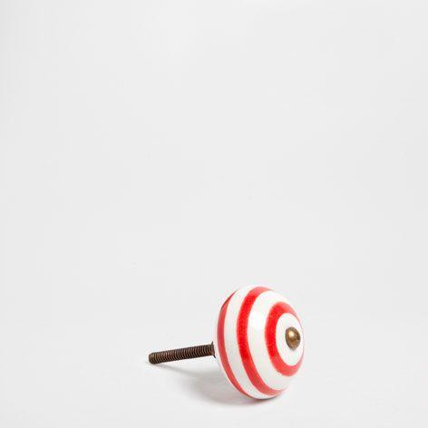 Painted Ceramic Knob (Set of 2) - Knobs & Hooks - Decor & pillows - SALE | Zara Home United States