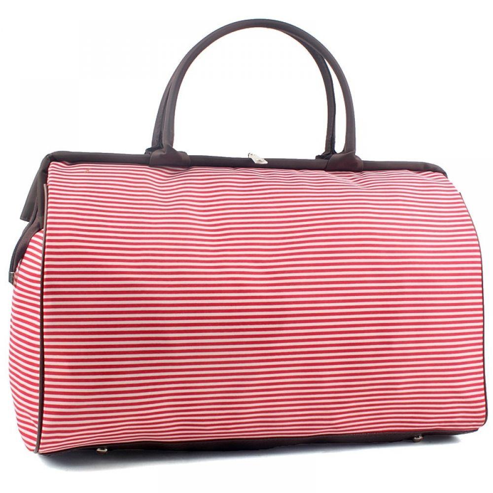 Women Pretty Patterned Large Fashion Weekend Hand Luggage Travel Bag #handluggage