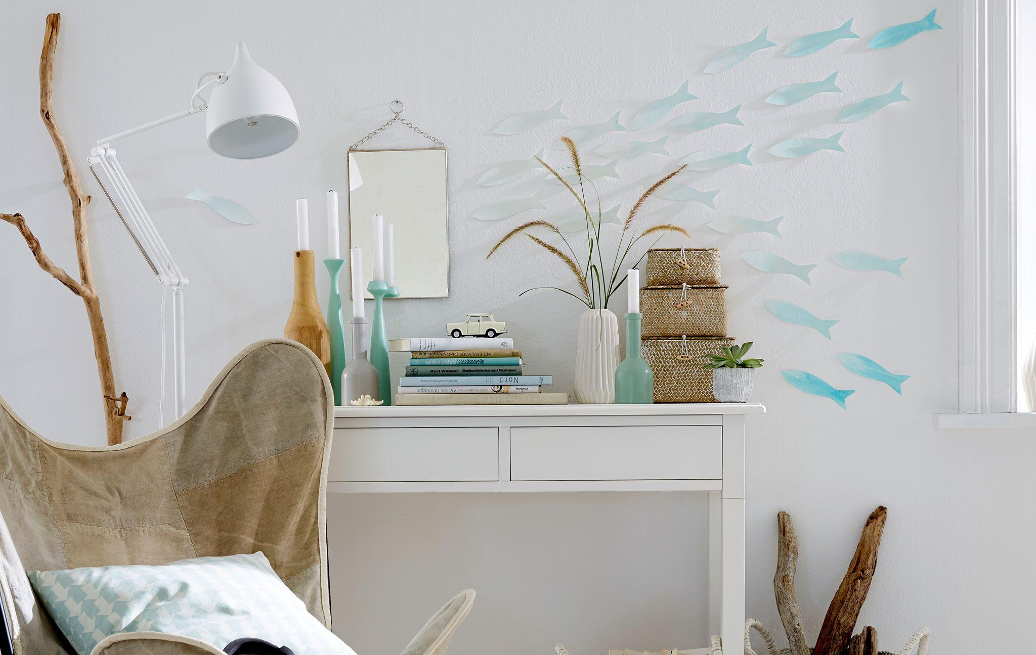 Schön Ausgeschnittene Papierfische: Deko Aquarium Als Blickfang Im Raum   DAS HAUS