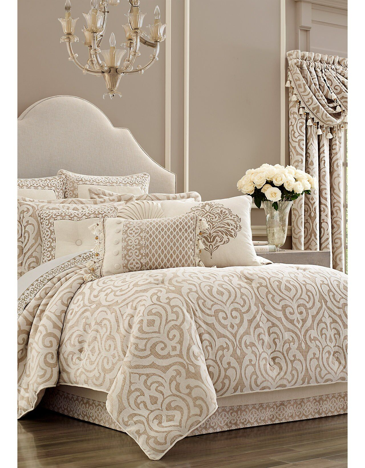 Milano Comforter Set Queen comforter sets, King