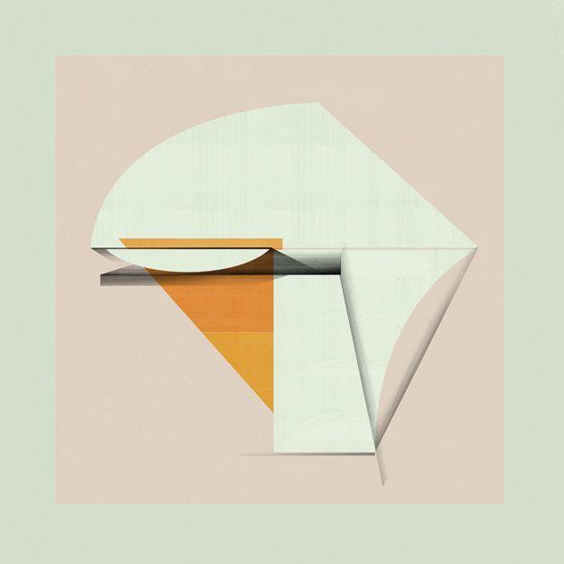 Abstract composition 926 | Obra gráfica de Jesús Perea | Flecha