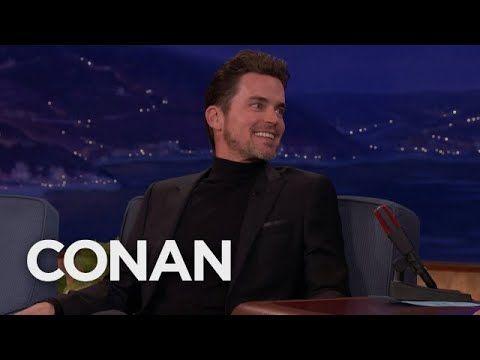 "(46) Matt Bomer On Straight Male Fans Of ""Magic Mike""  - CONAN on TBS - YouTube"