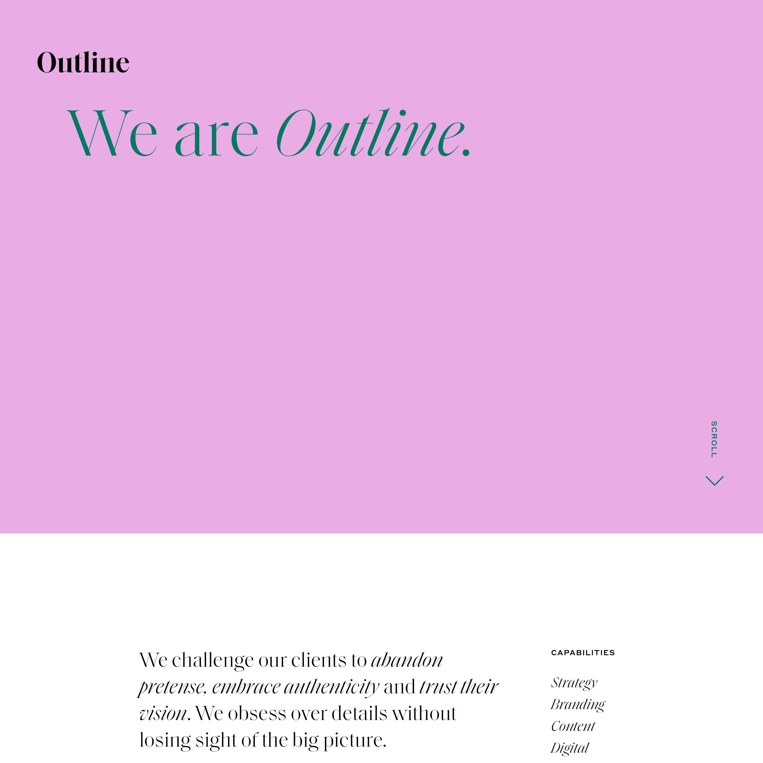 Fonts Used Saol Display And Styrene Typewolf Typography Inspiration Web Design Web Inspiration Web Development Design