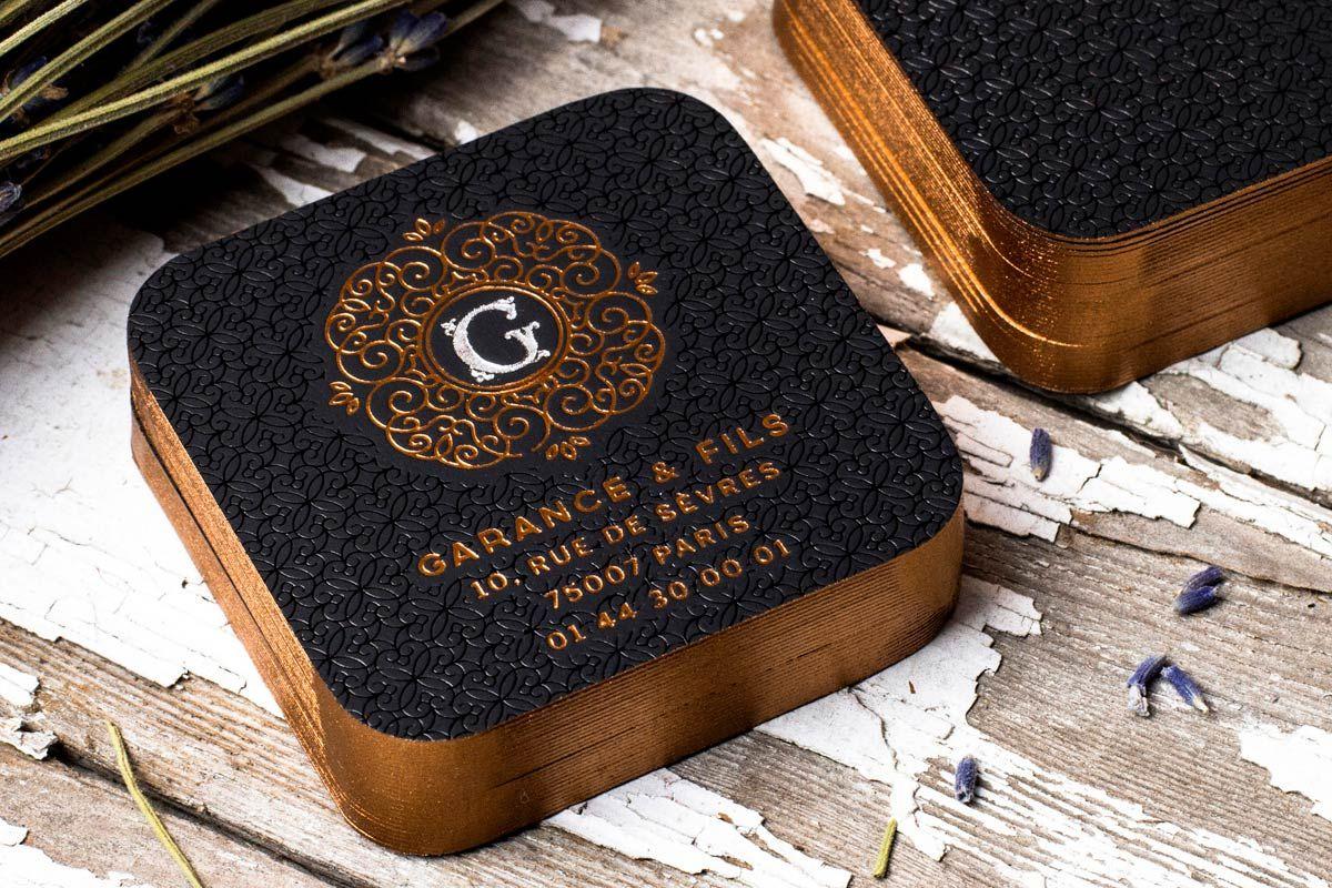 Garance fils foil business cards printing business