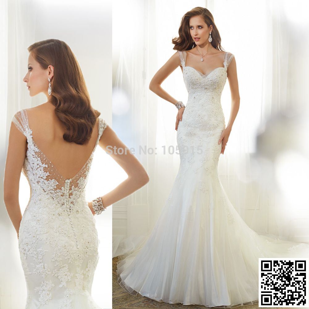 Este es! http://www.aliexpress.com/item/Amazing-Lace-Wedding-Dress-Sweetheart-Sleeveless-Sexy-Backless-Beaded-Mermaid-Wedding-Dresses-Vintage-Wedding-Dress-2015/32268089612.html?spm=2114.30010108.4.216.5AIstW