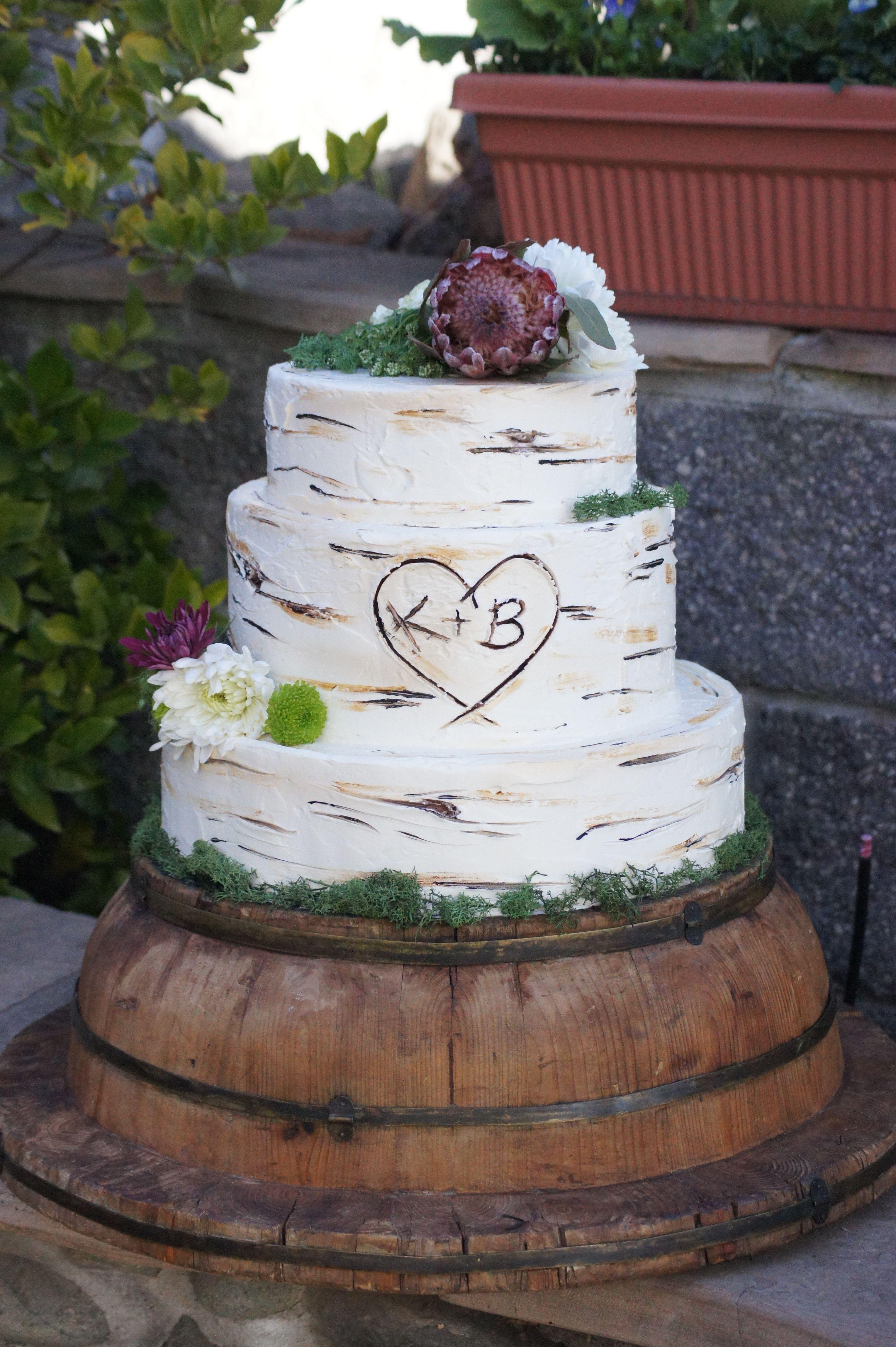 Perfect Tree Themed Wedding Cakes Elaboration - The Wedding Ideas ...