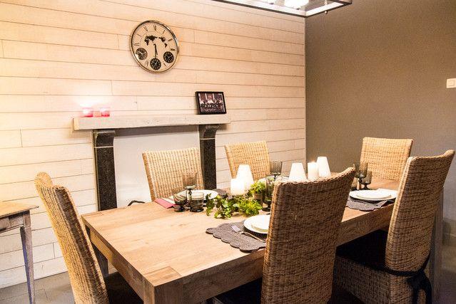 Aménagement d\u0027une salle à manger à Namur - Marie\u0027s Home
