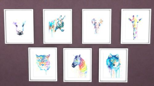 I Love These Designs Mysimmysimbl Animal Watercolor Paintings